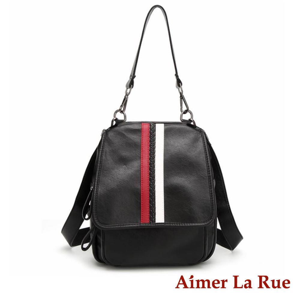 Aimer La Rue 維多利亞兩用後背包-線條款(快) @ Y!購物