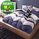 Ania Casa 加州假期風 單人兩件式 柔絲絨美肌磨毛 台灣製 單人床包枕套兩件組 product thumbnail 1