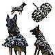 摩達客寵物系列-寵物大狗小狗透氣防水雨衣(迷彩綠/反光條/6種尺寸可選) product thumbnail 1