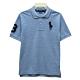 Ralph Lauren CLASSIC FIT 大童大馬短袖POLO衫-藍色 product thumbnail 1