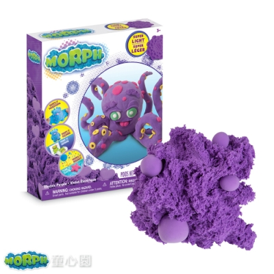 瑞典MORPH 魔塑黏土-紫L(3Y+)