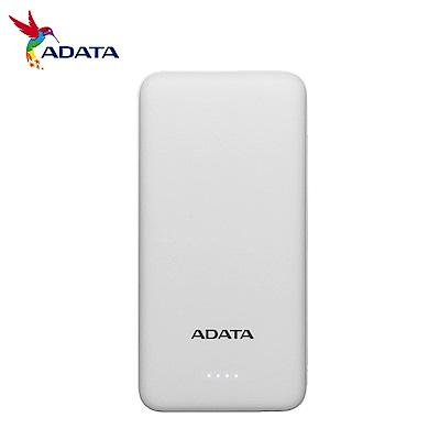 ADATA威剛 T10000  10000mAh  薄型行動電源(時尚白)