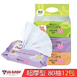 優生 超厚柔濕巾80抽x12包/箱