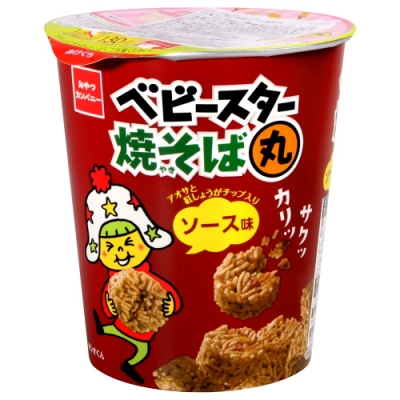 OYATSU 丸子點心餅乾[日式炒麵風味](59g)