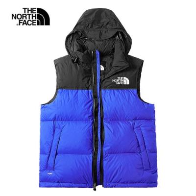 The North Face 1996Nuptse羽絨背心 藍 NF0A496TCZ6