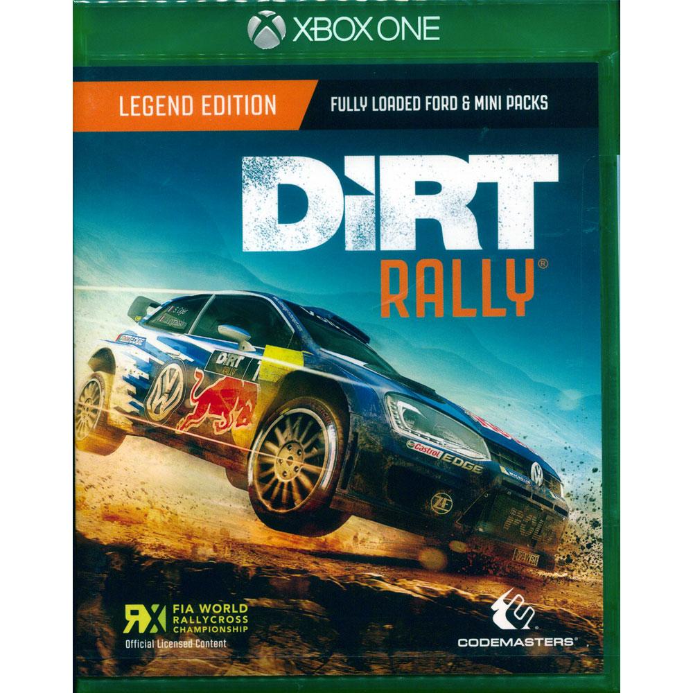 大地長征:拉力賽 傳奇版 Dirt Rally-XBOX ONE 英文亞版