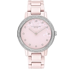 COACH 永恆時尚晶鑽陶瓷腕錶-35mm/14503500