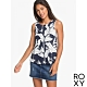 【ROXY】FINE WITH YOU PRINTED 上衣 海軍藍 product thumbnail 1