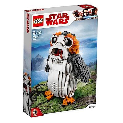 【LEGO樂高】星際大戰系列 最後武士 75230 Porg