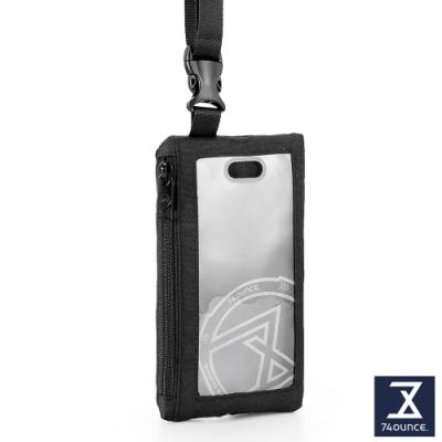 74盎司 Life 頸掛手機兩用包[TG-235-Li-T]黑