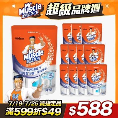 威猛先生 洗衣機槽清潔劑_99.9%除菌(250g-箱購︱12入)