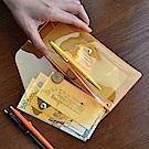 PLEPIC 糖果螢光透明筆袋-霓虹橘