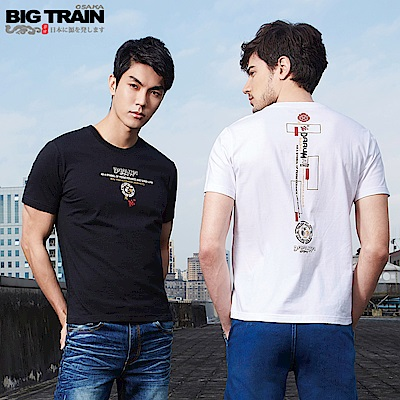 BigTrain翻轉潮流2件包-男-白色黑色