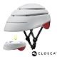西班牙CLOSCA克羅斯卡 LOOP 單車/滑板/滑板車/電動車用折疊安全帽-淺灰/酒紅 product thumbnail 1