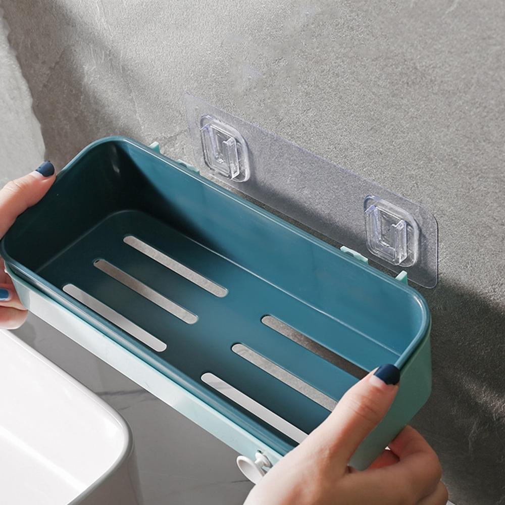 【Cap】魔術無痕廚衛撞色系收納置物架