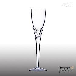 Royal Duke Violetta摩登型鑽石香檳杯200ml(一體成形水晶杯)