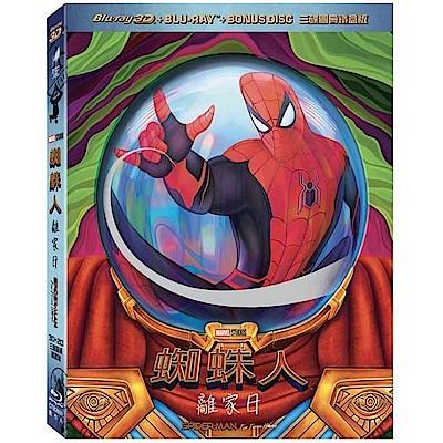 蜘蛛人:離家日 3D + 2D 三碟圖冊鐵盒版  藍光 BD