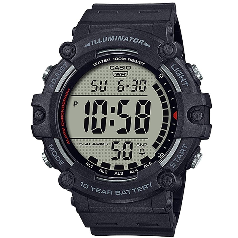 CASIO 10年電力系列超大字幕顯示運動感休閒錶(AE-1500WH)-多品任選 product image 1