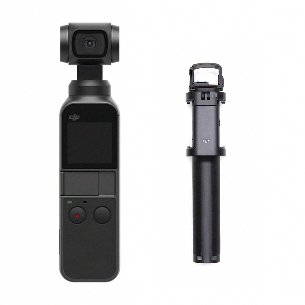 DJI OSMO POCKET 手持雲台相機+Pocket 加長桿 (飛隼公司貨)