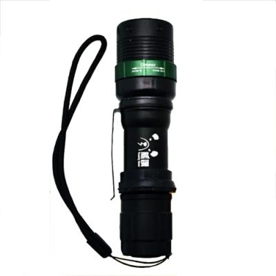 【BWW嚴選】熊讚 CY-88001 高效率魚眼型旋轉調焦手電筒