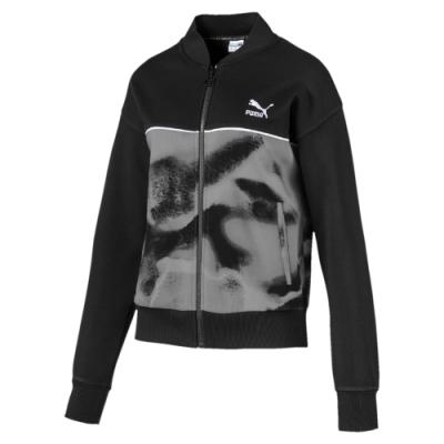 PUMA-女性流行系列Cloud立領外套-黑色-歐規