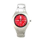 NBA 美國職籃 運動休閒腕錶-紅/40mm