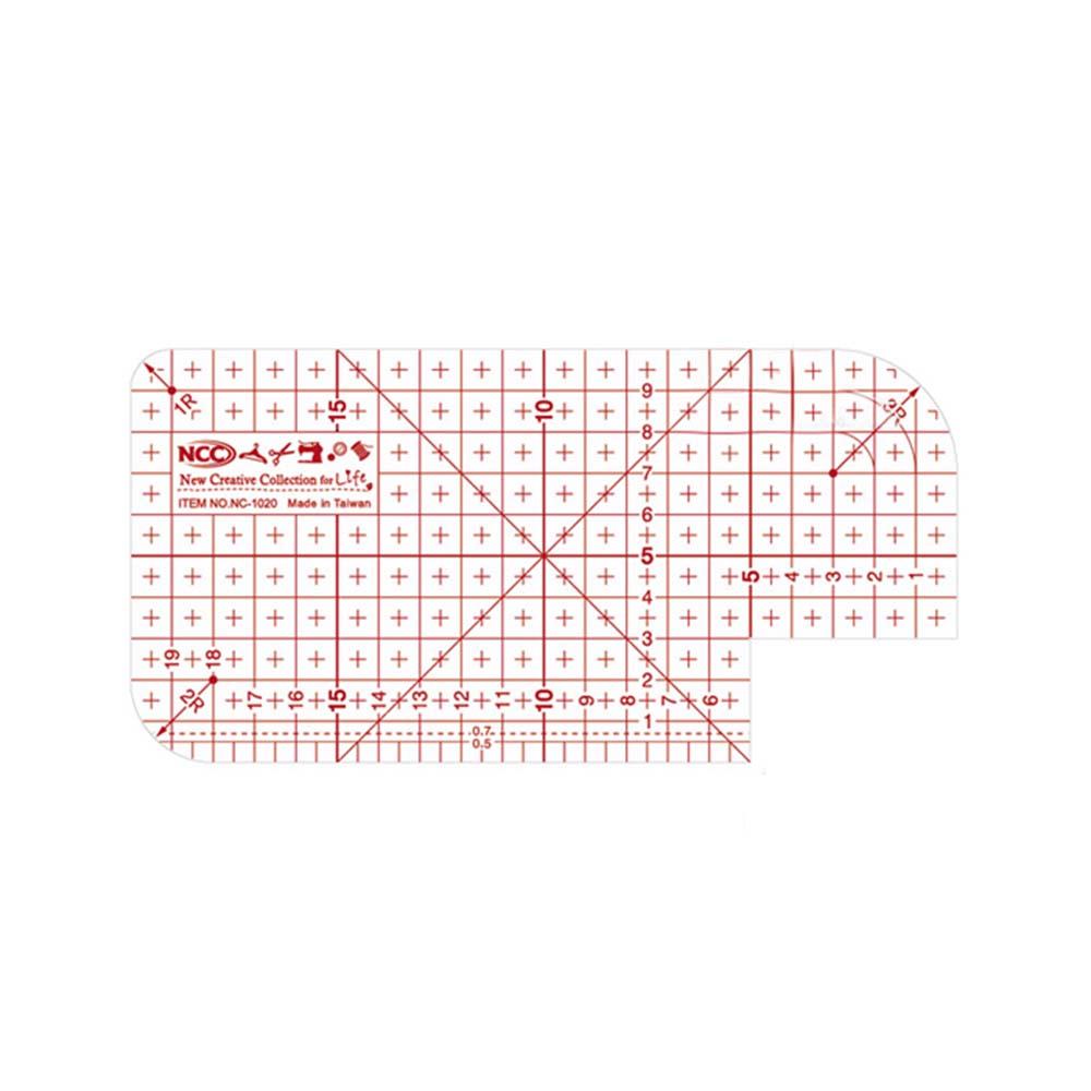 NCC 熨斗用止滑定規尺10X20cm
