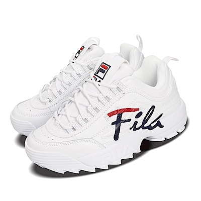 Fila 休閒鞋 Disruptor II Script 女鞋