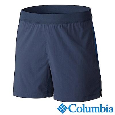 Columbia 哥倫比亞 男款-野跑涼感快排短褲-灰藍 UAE13090CB