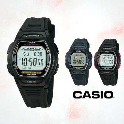 CASIO卡西歐 小巧造型電子錶(LW-201)