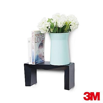 3M 無痕Lifestyle系列-DIY層板架(黑)