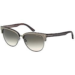 TOMFORD 眉框 太陽眼鏡(灰色)TF368