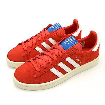 ADIDAS CAMPUS W 女休閒鞋 B37935 橘紅