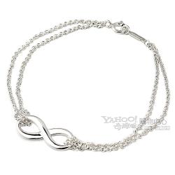 Tiffany&Co. 無限的愛 925純銀雙鍊手鍊