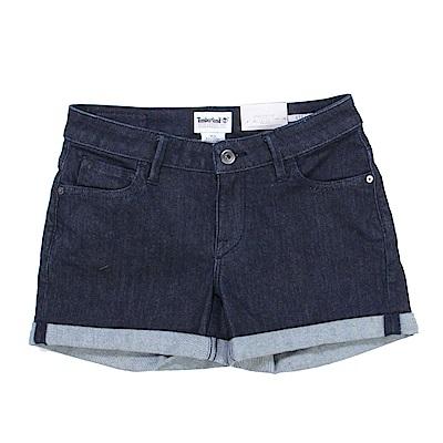 Timberland 女款深藍色Meadow Lake牛仔短褲|A1J9N
