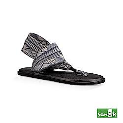 SANUK-YOGA SLING 2 印花瑜伽墊涼鞋-女款(黑白色)