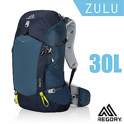GREGORY 新款 Zulu 30 網架式健行登山背包(M號)_海軍藍