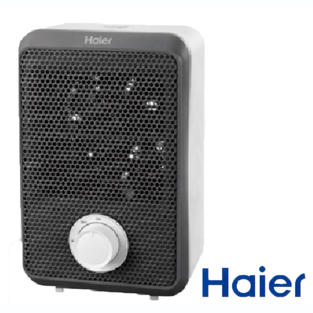 海爾迷你電暖器-黑 HFH101AB