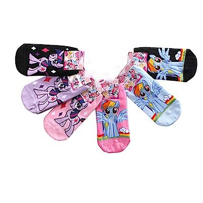 彩虹小馬直版襪(3雙一組) k50582 魔法Baby