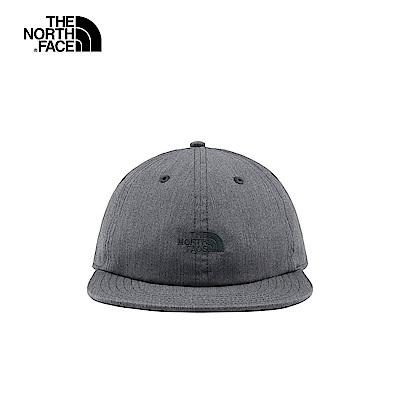 The North Face北面男女款灰色防潑水透氣運動帽|3FKHDYY