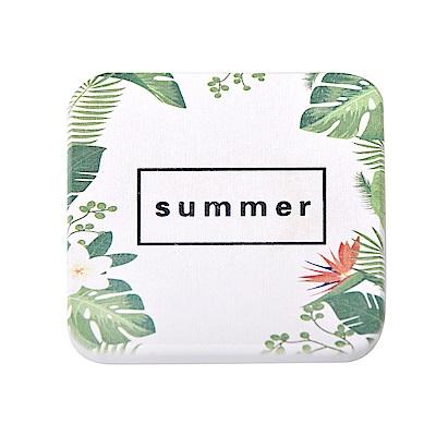 歡樂仲夏 印花珪藻土杯墊/皂墊(10x10cm) 2入組-Summer
