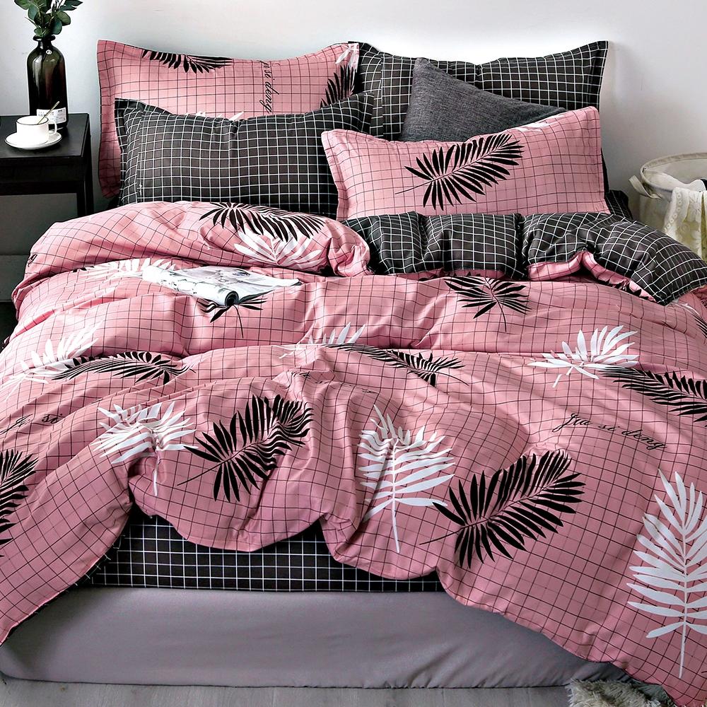 Goelia 午後香榭 親膚舒柔活性印染超細纖單人床包枕套兩件組