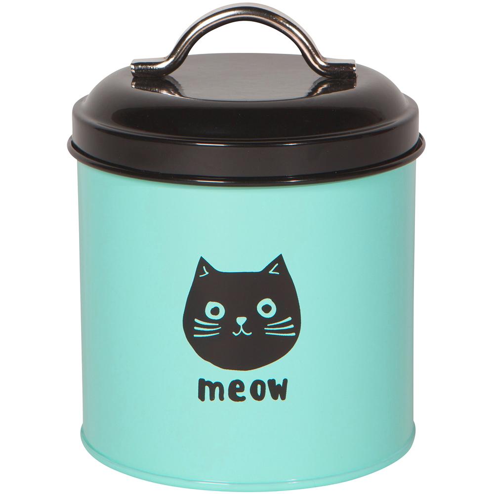《NOW》收納罐(藍貓)