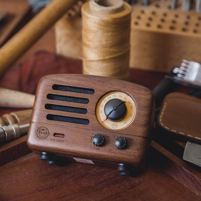 MUZEN OTR 經典復刻藍牙音響收音機(經典版)-兩款可選  藍牙音響 復古音響 收音機 攜帶式藍牙音響 藍牙喇叭