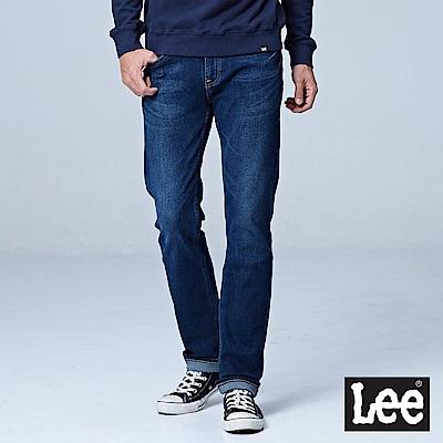 Lee 724中腰合身直筒牛仔褲-深藍色