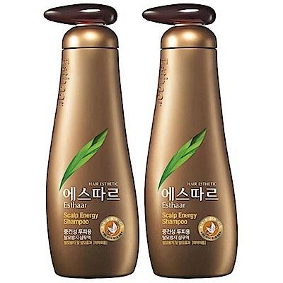 (即期品)Esthaar愛絲卡 幼芽活效洗髮精(養髮豐盈)400mlX2入