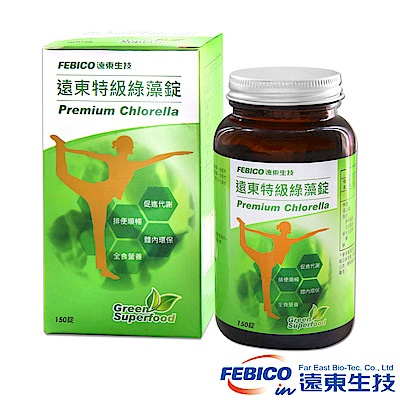 遠東生技 特級綠藻500mg(150錠/瓶)共6瓶
