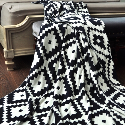 亞曼達Amanda 北歐風純棉針織四季毯 萬用毯 隨意毯 (多色可選)