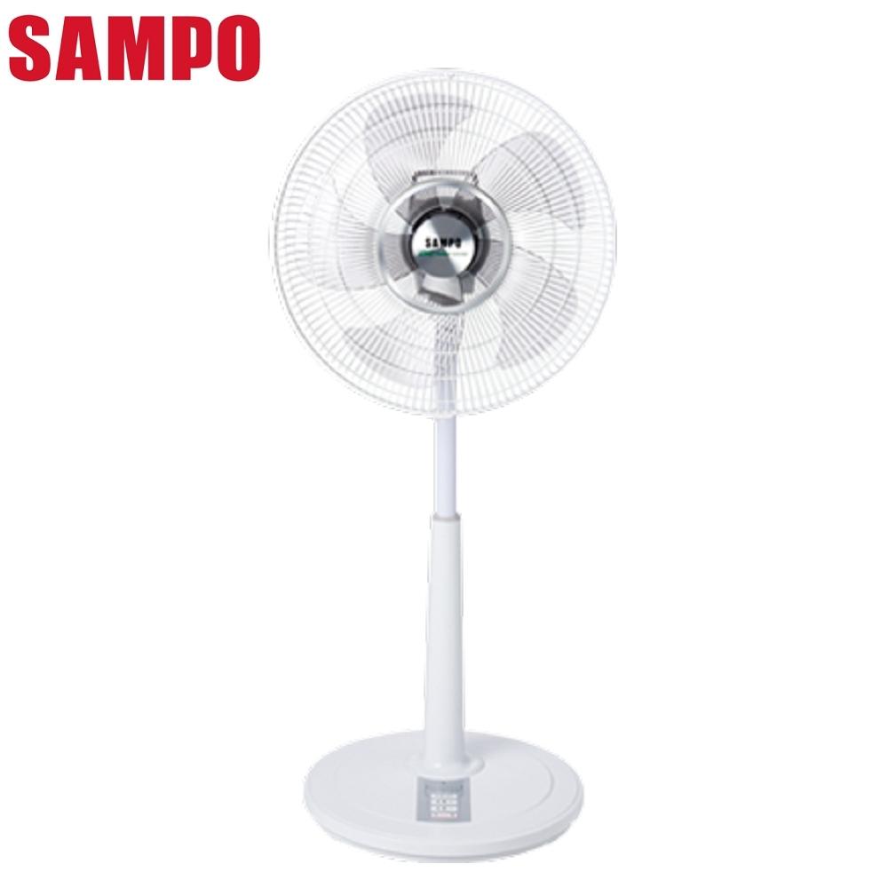 福利品 SAMPO聲寶 16吋 7段速微電腦遙控DC直流電風扇 SK-FM16DR