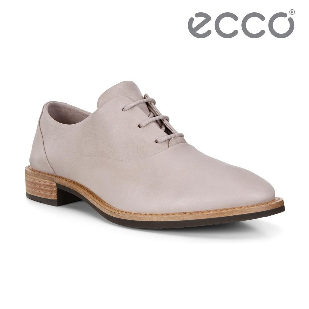 ECCO SARTORELLE 25 TAILORED 英倫風細緻牛津皮鞋 女鞋 灰粉